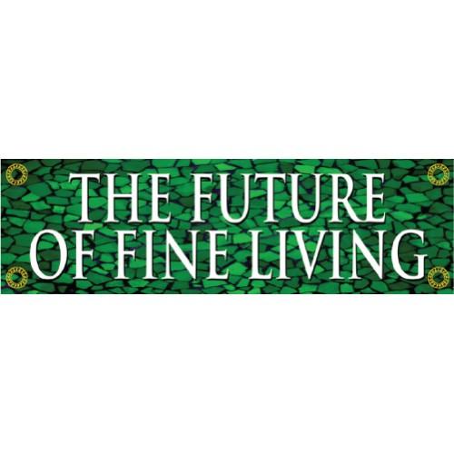 Tuscan Tile Emerald Banner