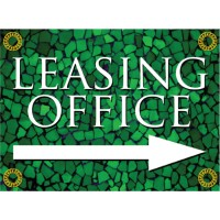 Tuscan Tile Emerald Sign