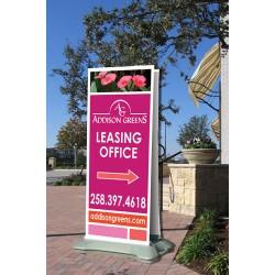 Outdoor Retractable Banner Display