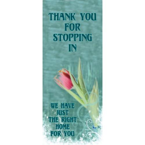 Flower Display Banner