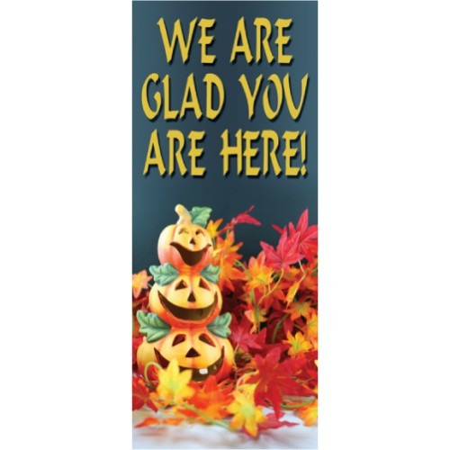 Fall Leaves Display Banner