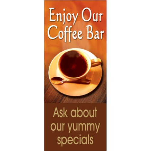 Coffee Bar Display Banner