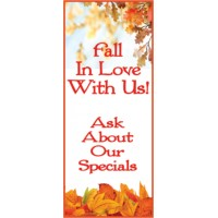 Fall In Love Display Banner