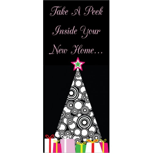 Take A Peek Display Banner