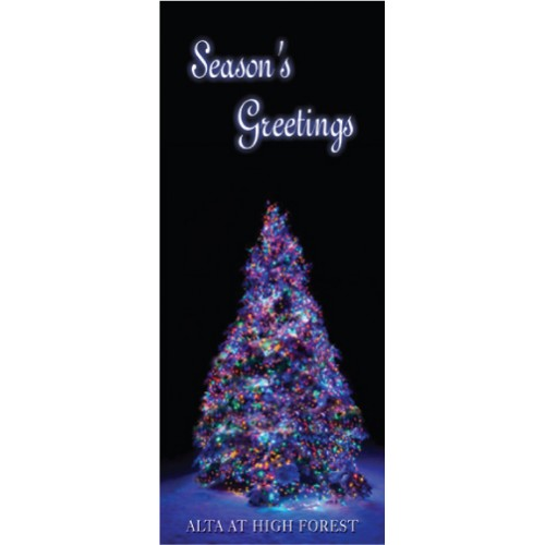 Christmas Tree Display Banner