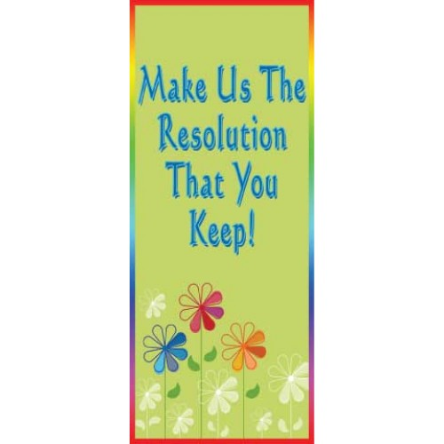 Gentle Flower Display Banner