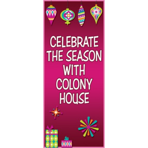 Celebrate Display Banner