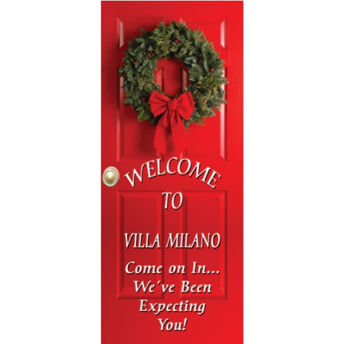 Wreath Display Banner