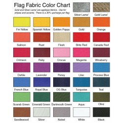 Four Color Vertical Panel Drape Flag
