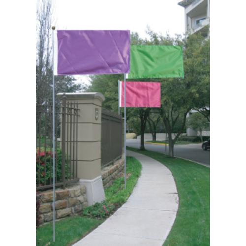 DriveWaver Flagpole Set