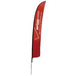 Feather Flag Extra Large Single Sided Kit