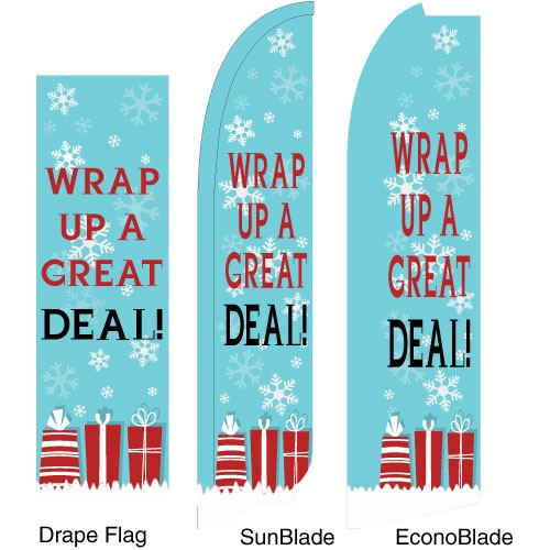 Wrap It Up Flags