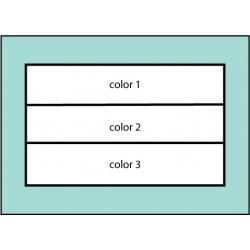 F105 Three Color Horizontal Flag