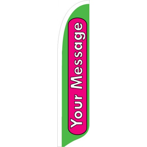 Bright Ideas SunBlade Flag Green Pink