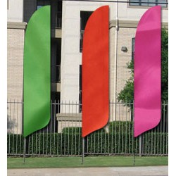 Solid Colored SunBlade Flags