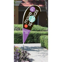 Custom Tear Drop Flags