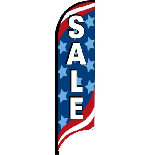 Patriotic Feather Flag Sale