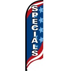 Patriotic Feather Flag Specials