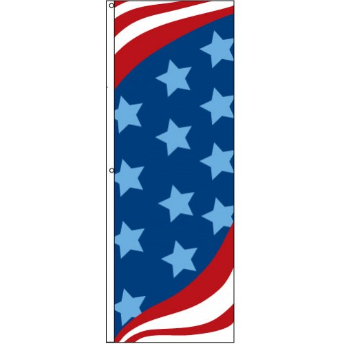 Stars and Stripes Flag No Message