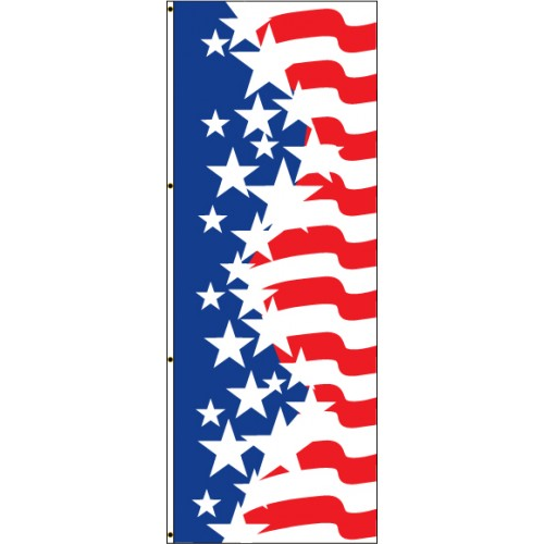 Uncle Sam Contemporary Flag