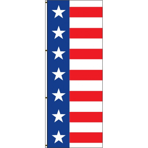 Horizontal Stars and Stripes Flag