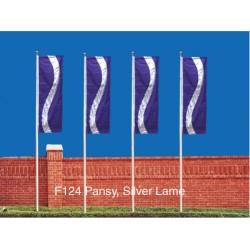 Three Color Curve Drape Flag