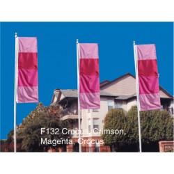F132 Four Color Drape Flag
