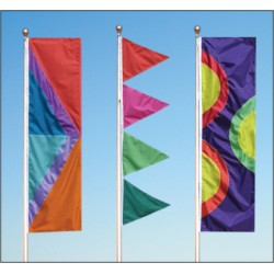 Drape Style Flags