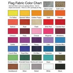 F107 One Color Drape Flag