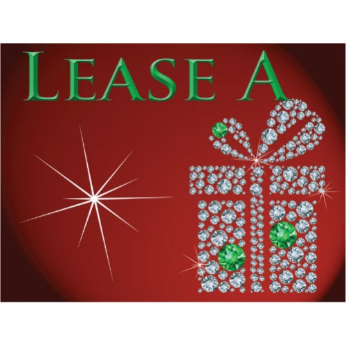 Bling Lease Sign