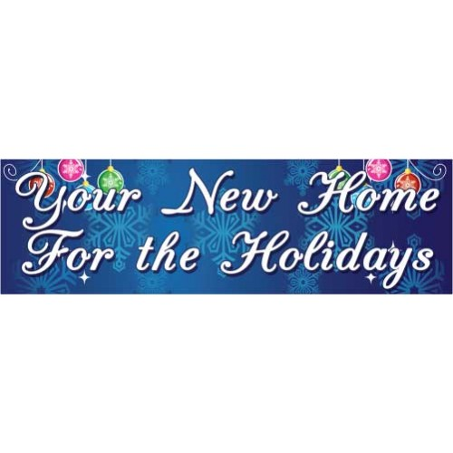 Your Home For Holidays Banner