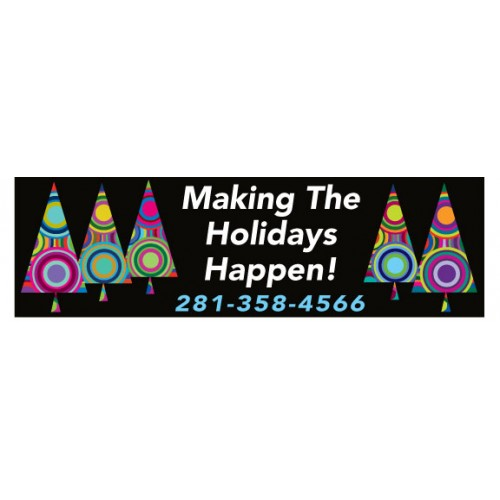 Holiday Happening Banner