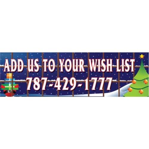 Wish List Banner