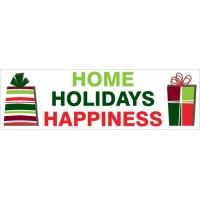 Home Holiday Happiness Banner