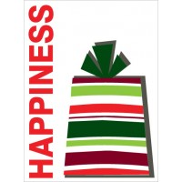 Happiness Present Sign