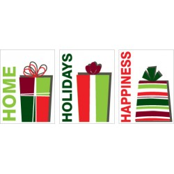Home Holiday Happiness Sign Special