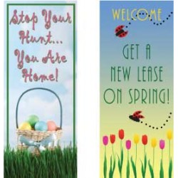 Spring Display Banners