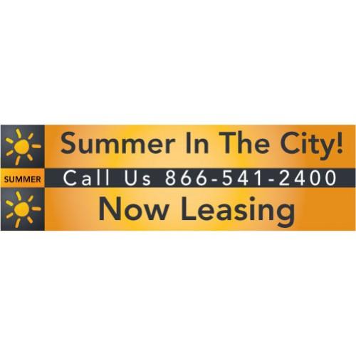 Summer City Banner