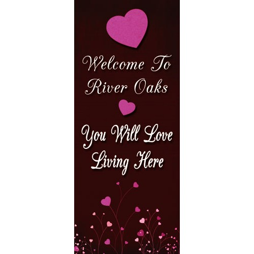 Love Living Display Banner
