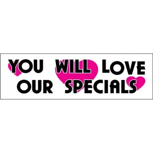Love Specials Banner