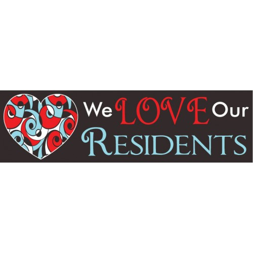 Love Residents Banner