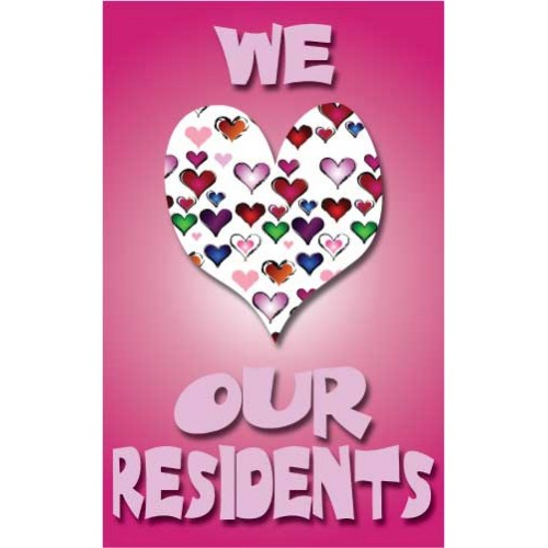 We Heart Residents Banner
