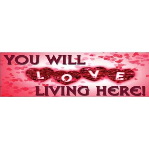 Love Living Banner