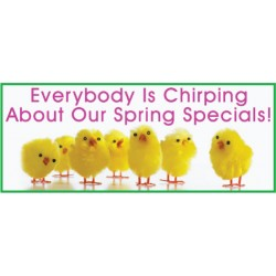 Chirping Banner