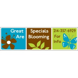 Great Blooming Banner