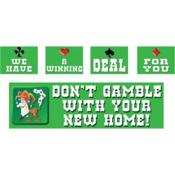 Don't Gamble With New Home Banner