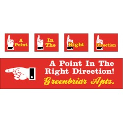 Point Direction Banner
