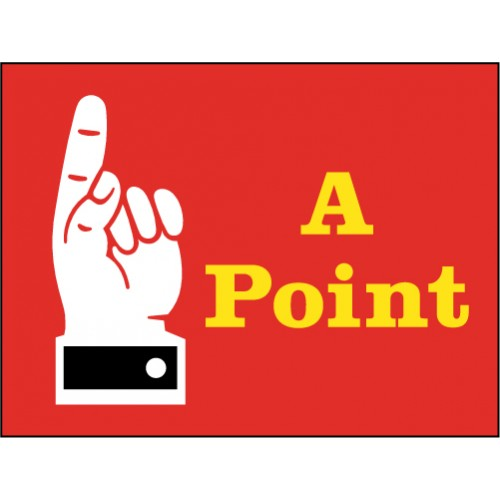 Point Hand Sign