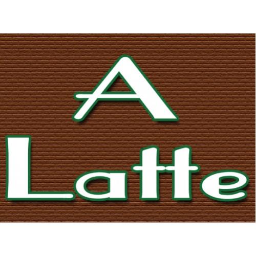A Latte Sign