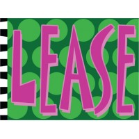 Lease Square Peg Sign